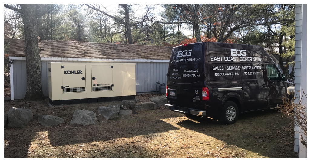 East Coast Generator Generator Sales Service Installation Repair Commercial Residential Portable Generators Rv Generators Marine Generators Bridgewater Ma New England